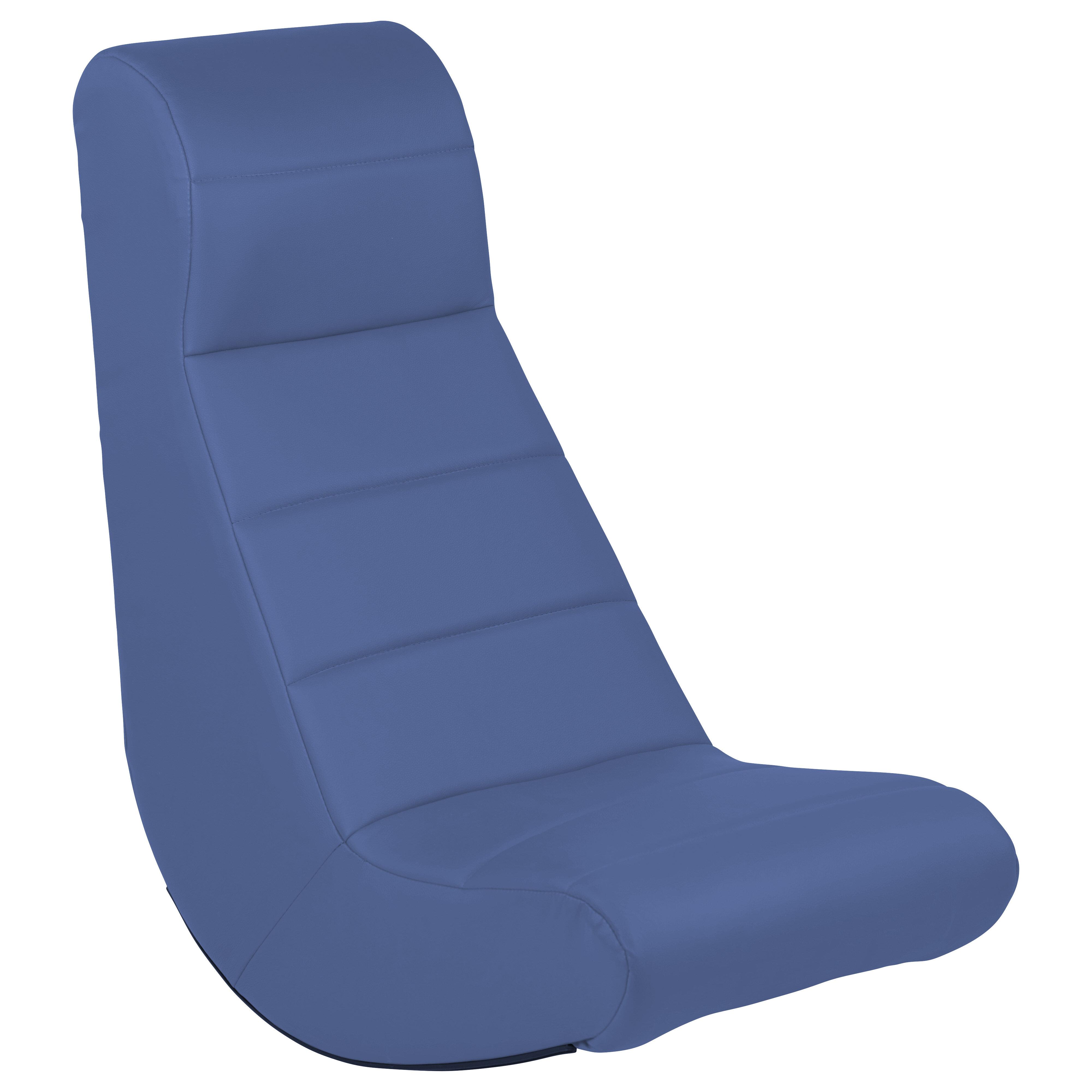 Factory Direct Partners Horizontal Soft Video Rocker Game Chair