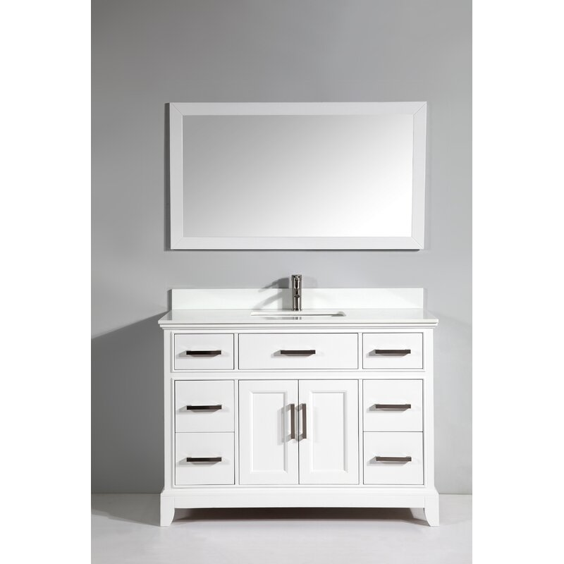 Vanity Art Phoenix Stone Single Bathroom Vanity With Mirror - Bathroom vanities phoenix