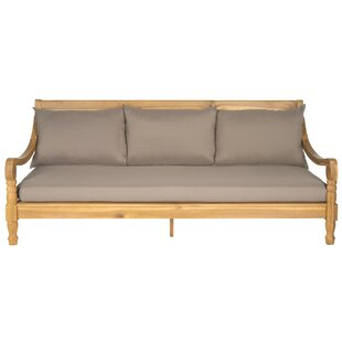 Cheval Teak Patio Daybed with Cushions