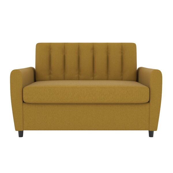 Tremendous Mustard Yellow Tufted Sofa Wayfair Onthecornerstone Fun Painted Chair Ideas Images Onthecornerstoneorg