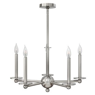 Wrought Studio Giard 5-Light Candle Style..