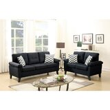 Pourteau 2 Piece Living Room Set by Latitude Run®