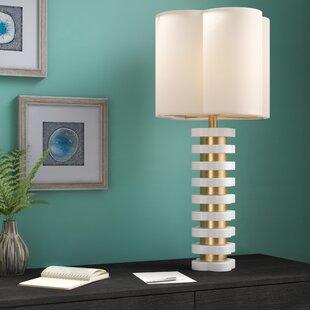 Hamlin Quatrefoil 32 Table Lamp