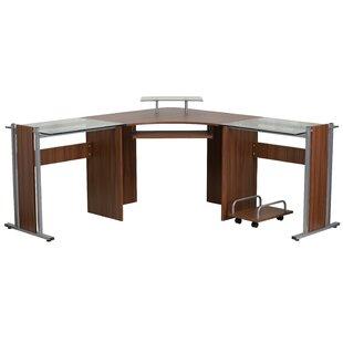 Latitude Run Baltic L-Shape Computer Desk
