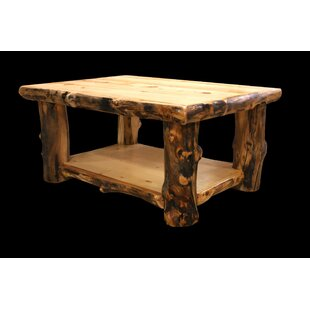 Millwood Pines Amias Coffee Table with Shelf