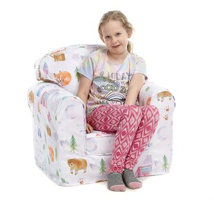 Feinberg Animal Camp Children's Club Chair By Zoomie Kids
