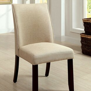 Kiro Upholstered Dining Chair (Set of 2) Alcott Hill
