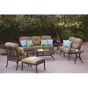 Fleur De Lis Living Calhoun 7 Piece Sofa Set with Cushions