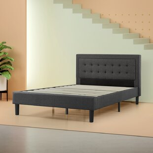Axtell Upholstered Platform Bed By ClassicLiving