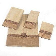 Braided Cuff 100% Cotton Fingertip Towel