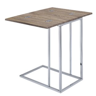 Tergel End Table by Wrought St..