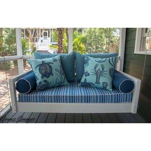 The Beautiful Beaufort Porch Swing by Custom Carolina Hanging Beds
