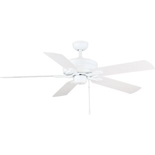 Bargain 52 Dashwood 5-Blade Ceiling Fan By Breakwater Bay