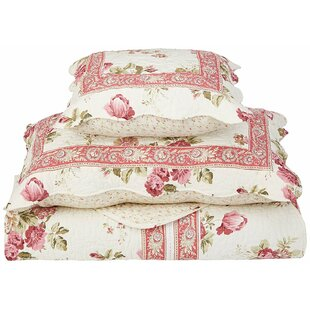 August Grove Chelston Rose Geneva Bedspread