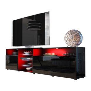 Orren Ellis Boutte Body High Gloss Doors Modern LED 79