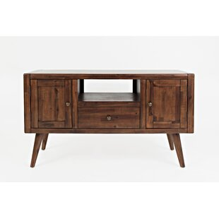 Carey Contemporary and Trendy Media Console Table