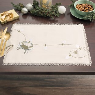 Christmas Handmade Placemats You Ll Love In 2021 Wayfair