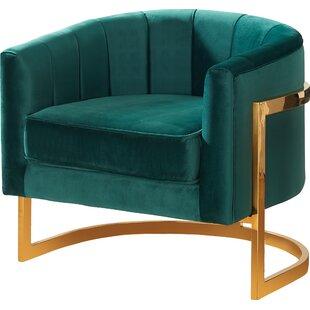 Superieur Velvet Emerald Green Chair | Wayfair