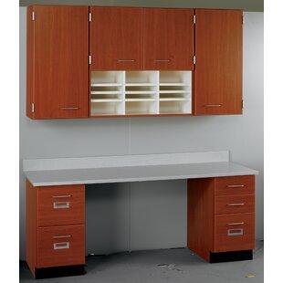 Suites 2 Piece Standard Desk Office Suite by Stevens ID Systems
