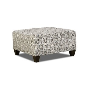 Simmons Upholstery Teri Cocktail Ottoman by Latitude Run