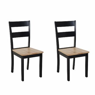 Tattnall Solid Wood Dining Chair (Set Of 2) By Brambly Cottage