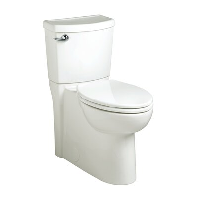 American Standard Cadet 3 Right Height 1.28 GPF Round Two-Piece Toilet (Seat Included)