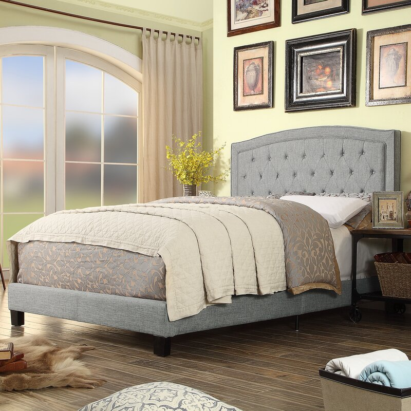 Mulhouse Furniture Gabriel Upholstered Panel Bed & Reviews | Wayfair