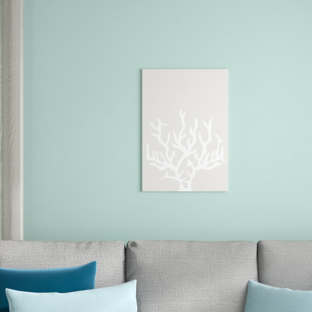 East Urban Home Beige White Coral Poster Gallery By Jetty Printables Unframed Graphic Art Print On Paper Wayfair Co Uk