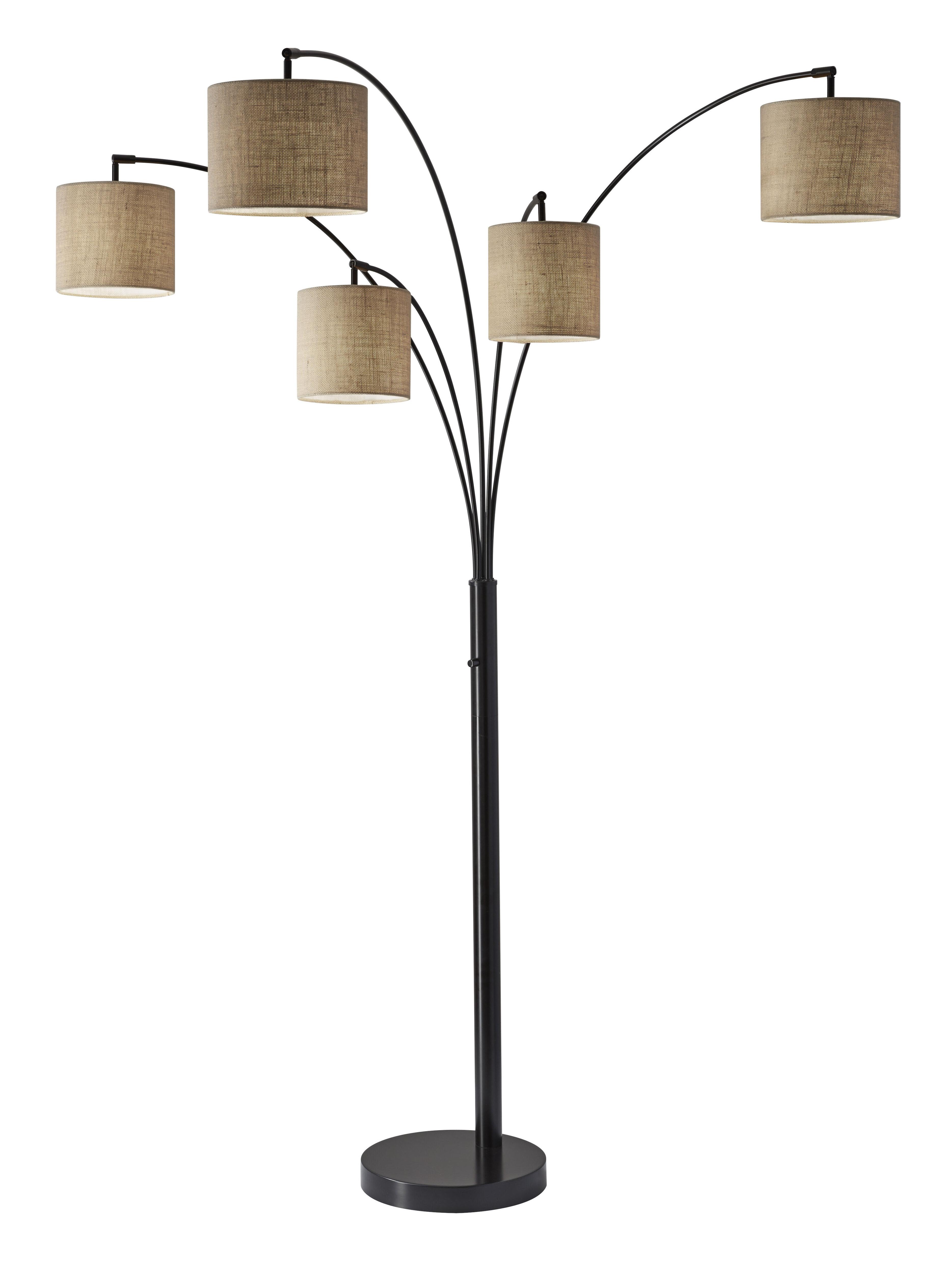 Presley 82 Black Tree Floor Lamp