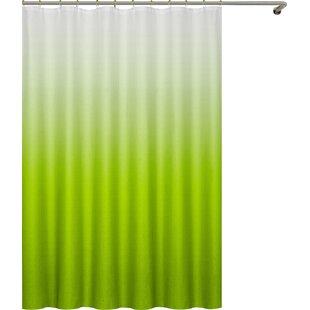 Modern Green Shower Curtains
