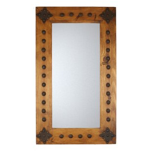 Reviews Santa Cruz Rustic Accent Mirror By My Amigos Imports
