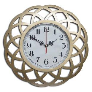 "Decorative 16"" Wall Clock"