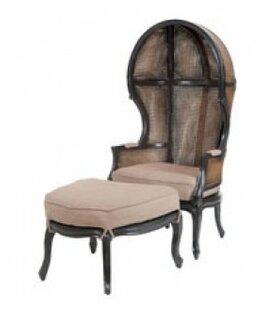 Cape Elizabeth Balloon Chair and Ottoman by One Allium Way