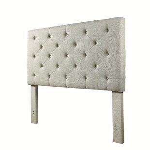 Cheadle Murray Upholstered Panel Headboard by House of Hampton #2