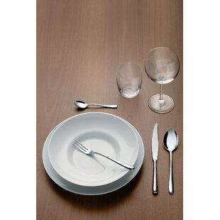Caccia by Luigi Caccia Dominioni 24 Piece 18/10 Stainless Steel Flatware Set, Service for 6