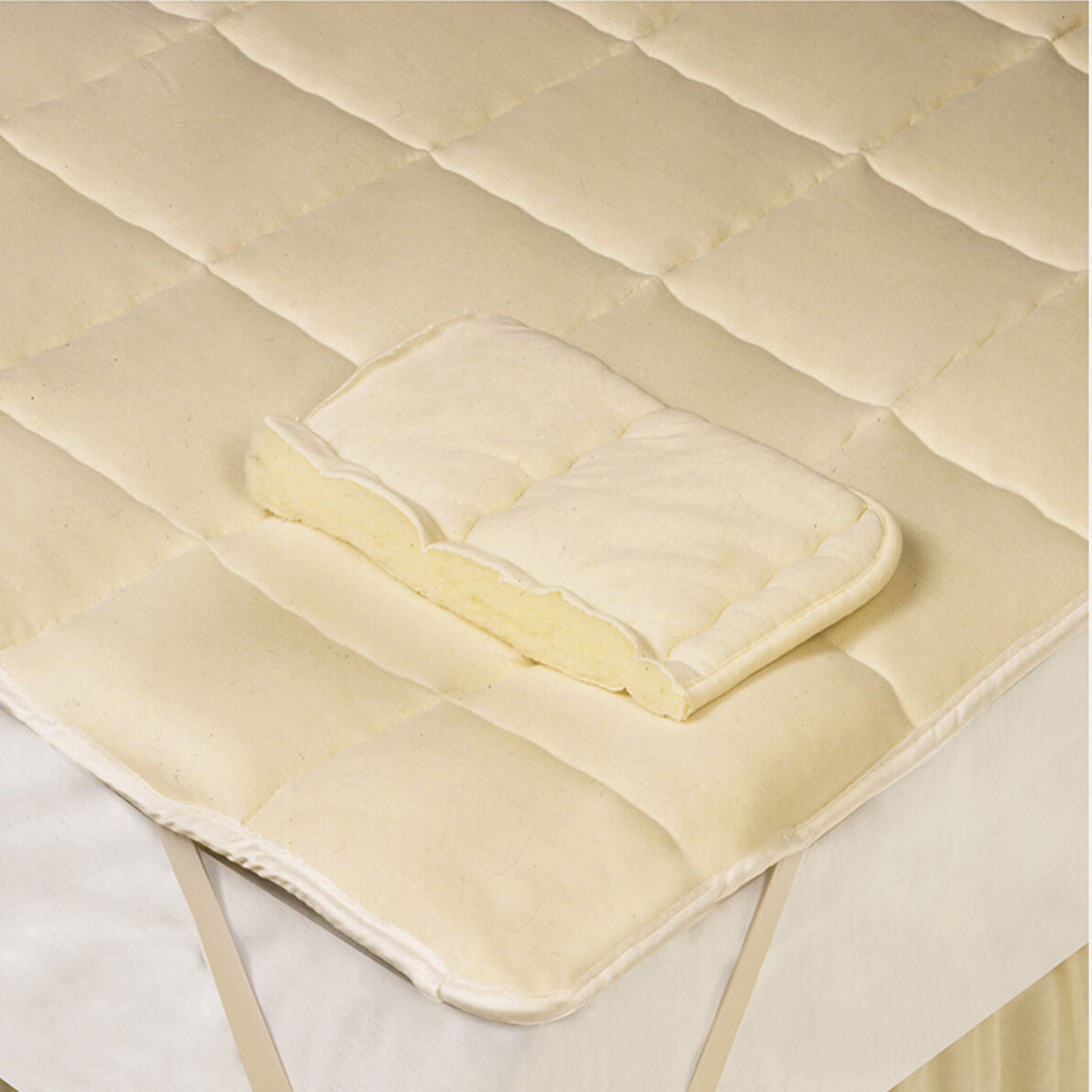 Arsuite Sussex Wool Mattress Pad Reviews Wayfair