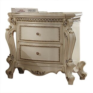 Curcio 2 Drawer Nightstand