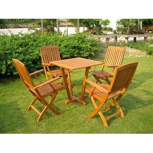 Sabbattus 5 Piece Dining Set by Breakwate..