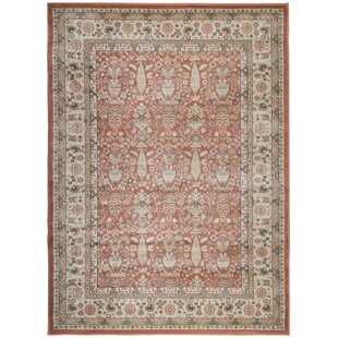 Garda Terracotta Area Rug by Wildon Home ?