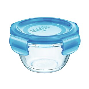 Bradsher Mini Box Round 6.75 Oz. Food Storage Container (Set of 12)