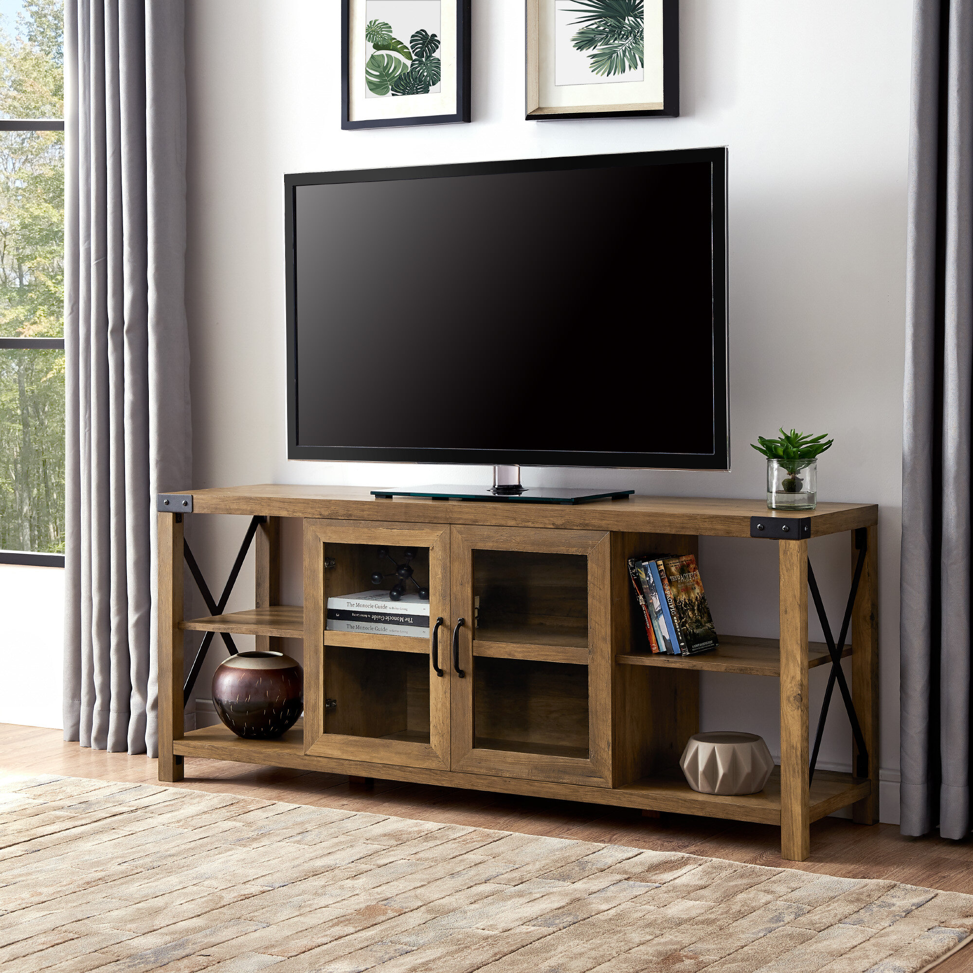 Foundry Select Arsenault Tv Stand For Tvs Up To 65 Reviews Wayfair