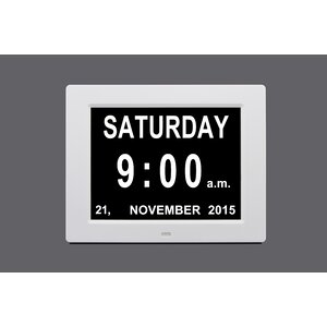 Day and Time Tabletop Clock