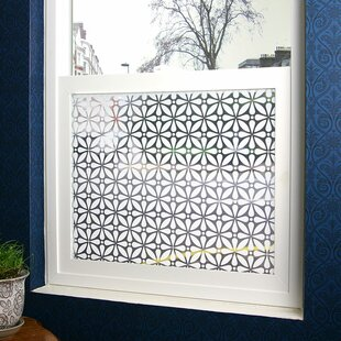 Geo Sheer Window Film by Stick Pretty