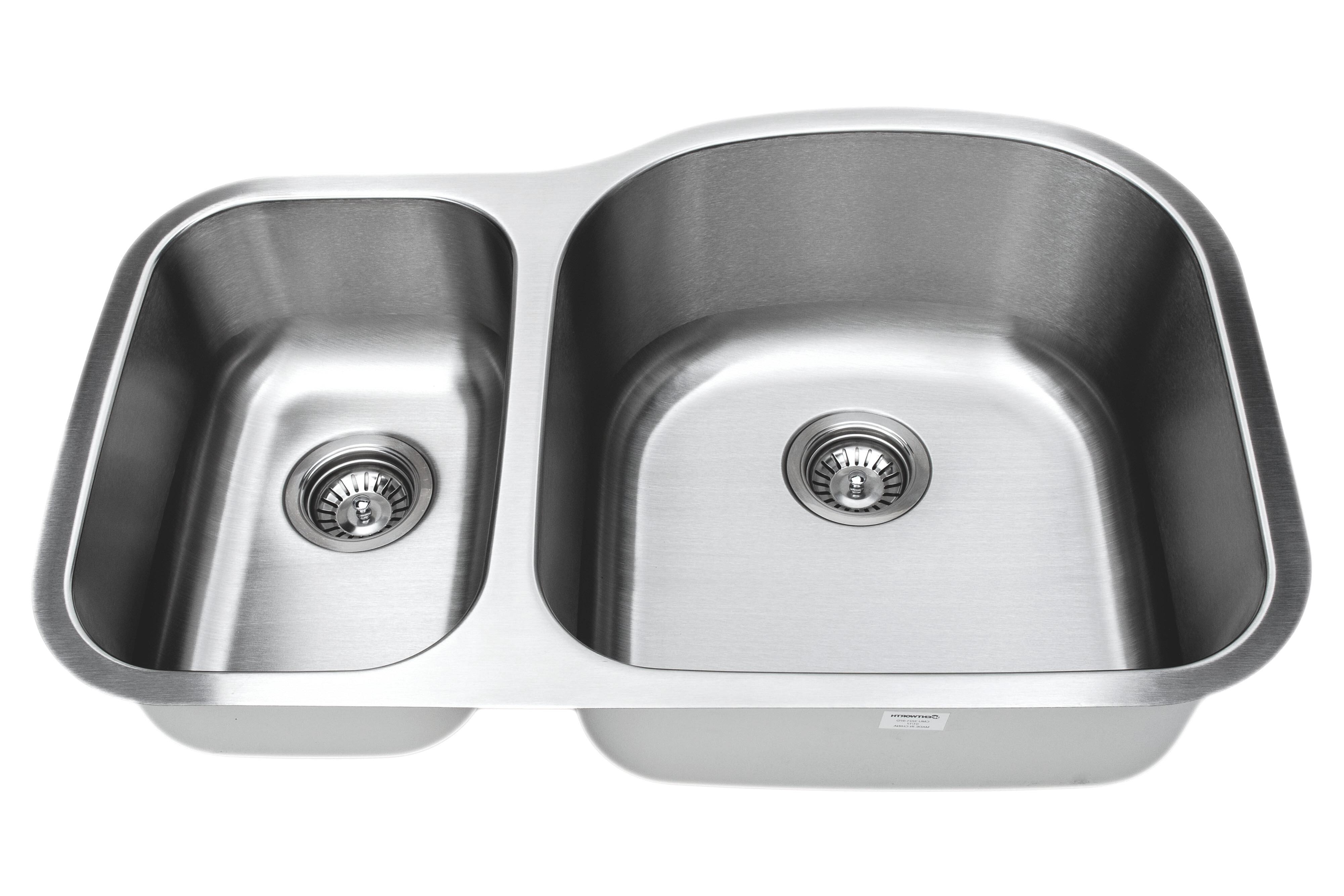 Wells Sinkware Craftsmen Series 32 L X 21 W Double Basin Undermount Kitchen Sink Wayfair