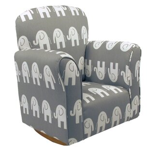 Pleasant Starla Child Elephant Cotton Rocking Kids Chair Andrewgaddart Wooden Chair Designs For Living Room Andrewgaddartcom