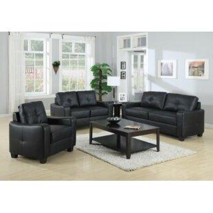Mendonca 3 Piece Living Room Set