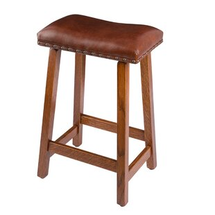 Burnside 30 Bar Stool by Loon Peak Herry Upt
