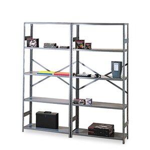"""Commercial 75"""" H 4 Shelf Shelving Unit Starter"""