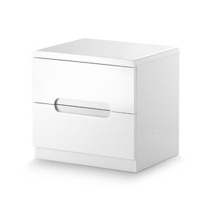 Atsabe 2 Drawer Bedside Table