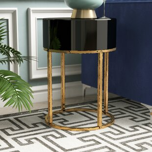 Broadmoor Curved End Table